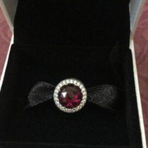 📿Pandora  Sparkling Cerise Pink Charm